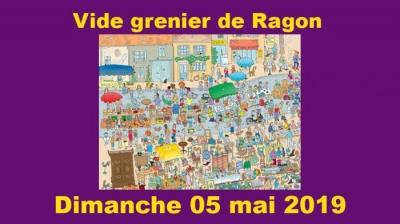 VIDE GRENIER de Ragon dimanche 5 mai 2019