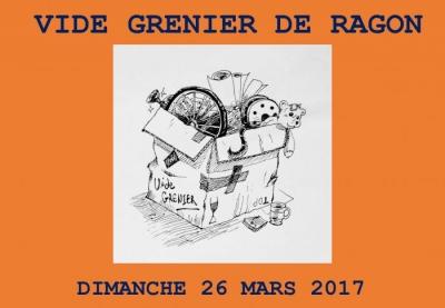 Vide grenier de Ragon Dimanche 26 mars 2017